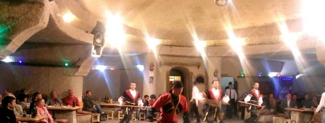 kapadokya türk gecesi dans şovu