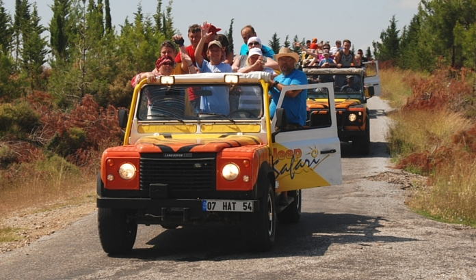 JIP SAFARI IN KEMER - THINGS TO DO IN KEMER AND TOURS