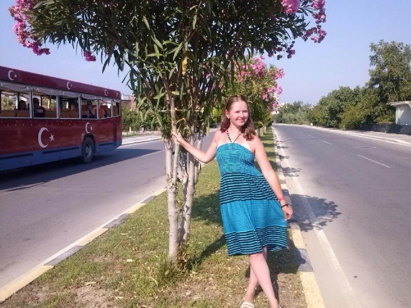 кабрио автобус в Сиде