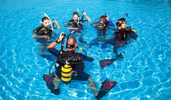 DIVING IN ALANYA
